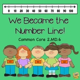 2.MD.6 We Became the Number Line: Activities, Tasks, Asses