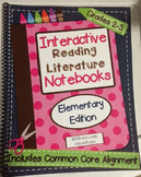 *2nd-3rd Grade* Interactive Reading Literature Notebooks S