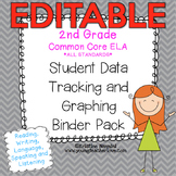 2nd Grade Common Core: ELA {Student Data Tracking Binder P