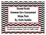2nd Grade Common Core Math Assessment Mega Pack