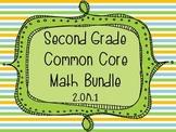 2nd Grade Common Core Math Bundle - Operations and Algebra