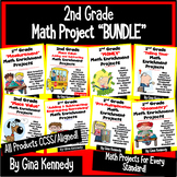 2nd Grade Common Core Math Enrichment Projects!  BUNDLE