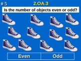 2nd Grade Common Core Math - Odd Or Even Numbers 2.OA.3