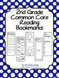 2nd Grade Common Core Reading Bookmarks