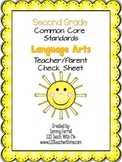 2nd Grade Common Core Standard for Language Arts: Teacher/