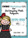 2nd Grade Everyday Math Workshop Plans for Unit 1