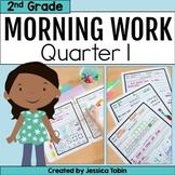 Morning Work for 2nd Grade Common Core 1st Quarter