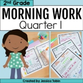 Morning Work for 2nd Grade Common Core 1st Quarter