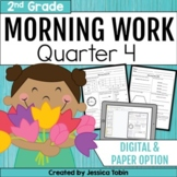 Morning Work for 2nd Grade Common Core 4th Quarter
