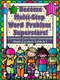 2nd Grade Multi-Step Word Problem Booklet