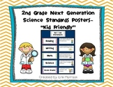 "2nd Grade Next Generation Science Standards Posters- ""Kid"