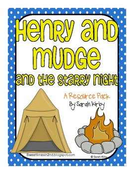 Henry and Mudge and the Starry Night Resource Pack