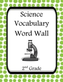 2nd Grade Science Word Wall
