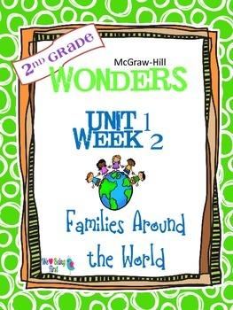 2nd Grade Wonders Reading  Unit 1 Week 2 ~ Families Around