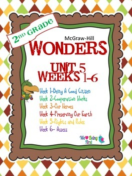2nd Grade Wonders Reading ~  Unit 5 Bundle