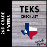 2nd Grade TEKS Checklist - 2014-15 (9 Week Checks)