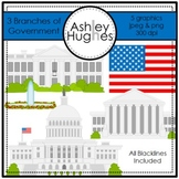 3 Branches of Government {Graphics for Commercial Use}