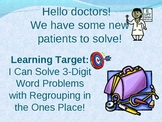3-Digit Addition Regrouping in the Ones PowerPoint