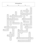 30 NBA Basketball Teams Crossword with Key