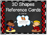 3D Shapes Reference Cards