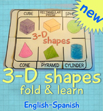 3D shapes Fold and Learn