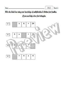 3.OA.4 Find Unknown Values in Multiplication & Division Equations