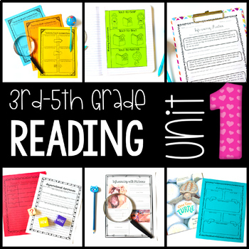 3rd-5th Grade Reading Workshop Unit 1 {Comprehension Strategies}
