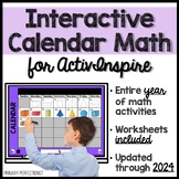 3rd Grade Calendar Math for the Interactive White Board -