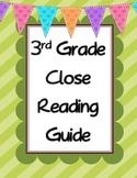 3rd Grade Close Reading Guide