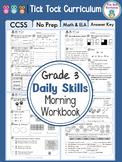3rd Grade Daily Skills Morning Workbook