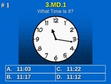 3rd Grade Common Core Math 3 MD.1 Tell and write time. 3.MD.1