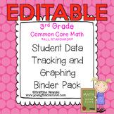 3rd Grade Common Core: Math {Student Data Tracking Binder