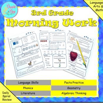 3rd Grade Morning Work