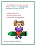 3rd Grade Common Core Reading Strategies Using Stephanie's