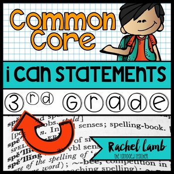 3rd Grade Common Core Standards posters display
