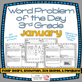 3rd Grade Common Core Word Problem of the Day- January