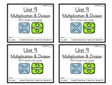 3rd Grade Everyday Math: Unit 9 Review Study Guide