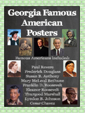 3rd Grade Georgia Famous People Posters