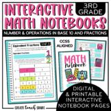 3rd Grade Interactive Math Notebook - NBT & NF
