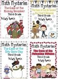 3rd Grade Math Mysteries 8 Pack - Shipped CD