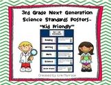 "3rd Grade Next Generation Science Standards Posters- ""Kid"