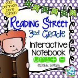 3rd Grade Reading Street Interactive Notebook Unit 4