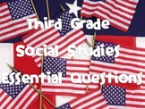 3rd Grade Social Studies Essential Questions