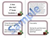 3rd Grade Vocabulary Game 1