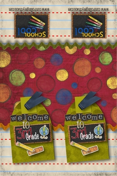3rd Grade Welcome Back to School Bookmarks
