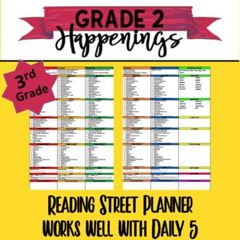 3rd Reading Street Planner