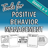 Positive Behavior Management in Middle School (Grades 6, 7, 8)