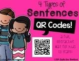 4 Types of Sentences QR Codes
