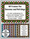 40 Holiday and Seasonal Frames