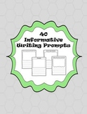 40 Informative Writing Prompts